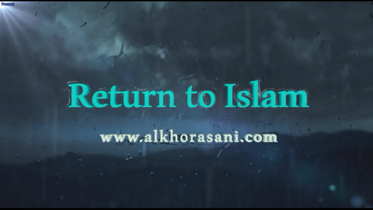 Return to Islam (3)